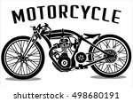 motorcycle icons | Shutterstock .eps vector #498680191