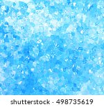glitter stylized watercolor... | Shutterstock .eps vector #498735619