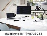 computer mockup   Shutterstock . vector #498739255