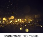 glitter lights grunge... | Shutterstock . vector #498740881