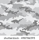 urban camouflage seamless... | Shutterstock .eps vector #498786595