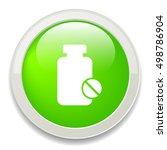 medicine icon | Shutterstock .eps vector #498786904