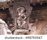 Shiva Dancing In Her Temple