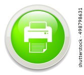 printer icon | Shutterstock .eps vector #498798631
