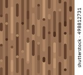 brown holiday pattern. vector... | Shutterstock .eps vector #498812731