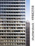 a highly repetitive downtown... | Shutterstock . vector #49882558