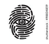 Fingerprint With Eye Inside....