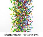 3d rendered polygonal... | Shutterstock . vector #498845191