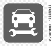 car repair interface toolbar... | Shutterstock .eps vector #498855655
