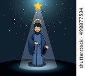 joseph cartoon design   Shutterstock .eps vector #498877534