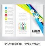 business brochure design   Shutterstock .eps vector #498879604