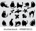 collection of black cats...