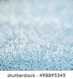 background of water drops...   Shutterstock . vector #498895345