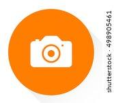 digital camera icon | Shutterstock .eps vector #498905461