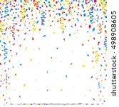 bright celebration background... | Shutterstock .eps vector #498908605