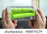 augmented reality marketing... | Shutterstock . vector #498974179