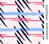 scandinavian vector  pattern... | Shutterstock .eps vector #499020991