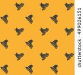 rollers sport seamless pattern | Shutterstock .eps vector #499026151