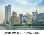 new york city skyline from new...   Shutterstock . vector #499078501