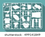 model kit of publication  flat... | Shutterstock .eps vector #499141849
