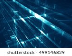 abstract futuristic background  ... | Shutterstock . vector #499146829