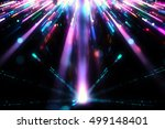 colorful abstract lights... | Shutterstock . vector #499148401