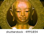 authentic buddha statue in thai ... | Shutterstock . vector #4991854