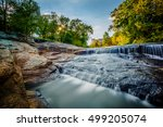 waterfall at the falls park on... | Shutterstock . vector #499205074