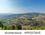 assisi  italy   aug 31  2015 ... | Shutterstock . vector #499207645