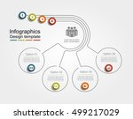 infographic design template... | Shutterstock .eps vector #499217029