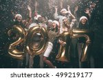 happy new year to you  group of ... | Shutterstock . vector #499219177