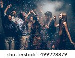 fun and fun again. group of... | Shutterstock . vector #499228879