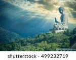 giant buddha statue at ngong...