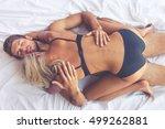 top view of beautiful... | Shutterstock . vector #499262881