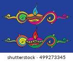 diwali price tag banner | Shutterstock .eps vector #499273345
