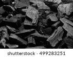 Black Charcoal Texture...