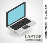 isometric icon. laptop