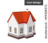 isometric vector illustration... | Shutterstock .eps vector #499308571