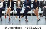office worker teamwork employee ... | Shutterstock . vector #499312201