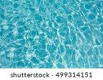 beautiful blue water in... | Shutterstock . vector #499314151