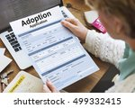 Small photo of Adoption Application Family Guardianship Support Concept