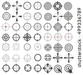 very large collection of icons  ... | Shutterstock .eps vector #499336789