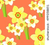 Seamless Pattern Bouquet Of...