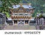 scenery of the nikko toshogu... | Shutterstock . vector #499365379