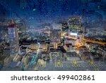 internet of things  iot  links...   Shutterstock . vector #499402861