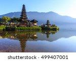 pura ulun danu bratan  hindu...   Shutterstock . vector #499407001
