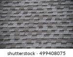 roof shingle background | Shutterstock . vector #499408075