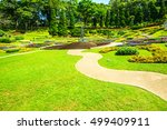 landscape of mae fah luang... | Shutterstock . vector #499409911