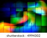 Rectangular Abstract - stock photo