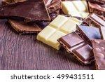 close up of a heap of various... | Shutterstock . vector #499431511